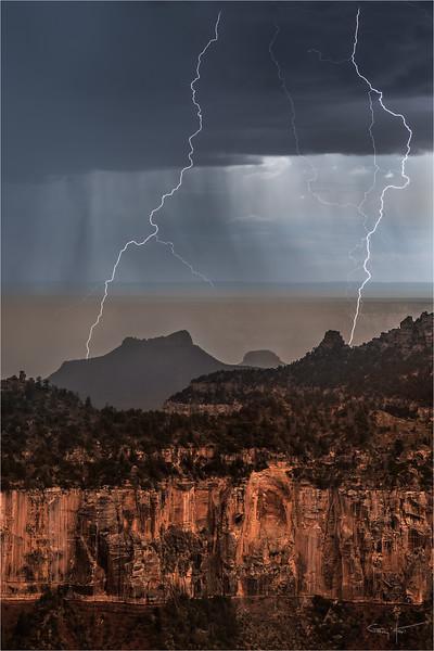 Twin Strikes, Grand Canyon North Rim