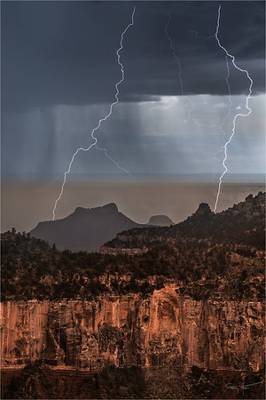 Twin Strikes, Grand Canyon North Rim