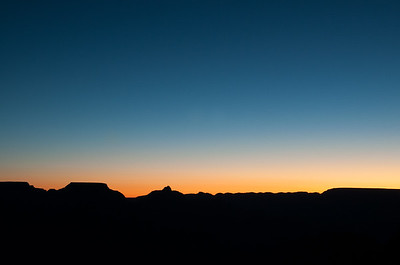 Dawn at the Grand Canyon