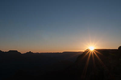 Sunrise from Yavapai Point, Grand Canyon