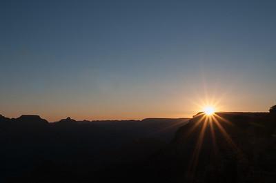 Sunrise from Yavapai Point, Grand Canyon