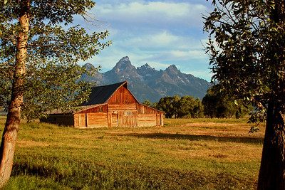 Thomas Moulton Barn - Mormon Row - GTNP