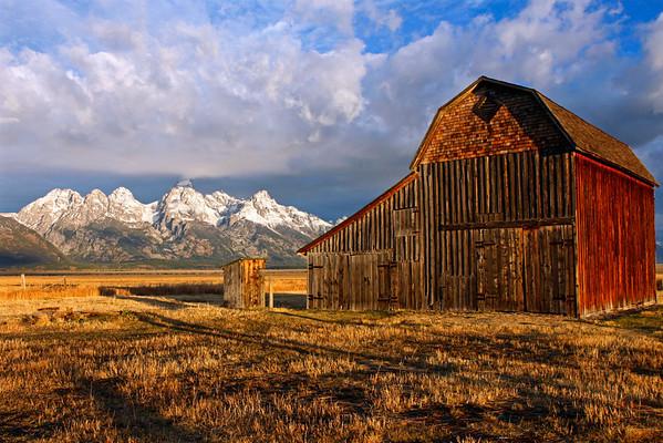 Thomas Murphy Barn - Mormon Row - GTNP
