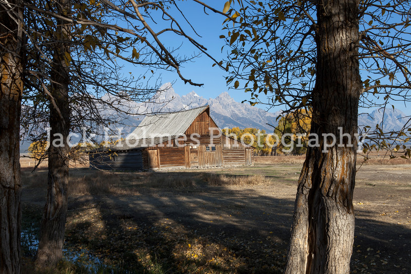Old barn - Mormon's Row