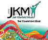 Tradeshow backdrop for JKM Music