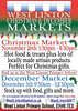 Example of the West Linton Market's Christmas market.
