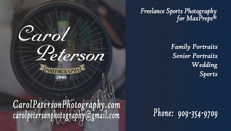 carol peterson photography business card camaera