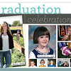 Graduation announcement and invitation postcard for my sister. Senior photos were also taken by my husband and self.