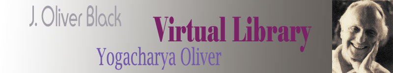 A prototype Website heading for www.yogacharyaoliver.com