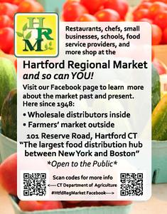 market postcard outlines