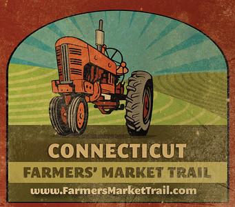 Logo re-design www.farmersmarkettrail.com