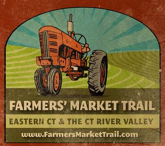 Logo design Farmers Market Trail www.farmersmarkettrail.com