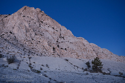 First light of dawn on Crystal Peak, western Utah, April 2011.
