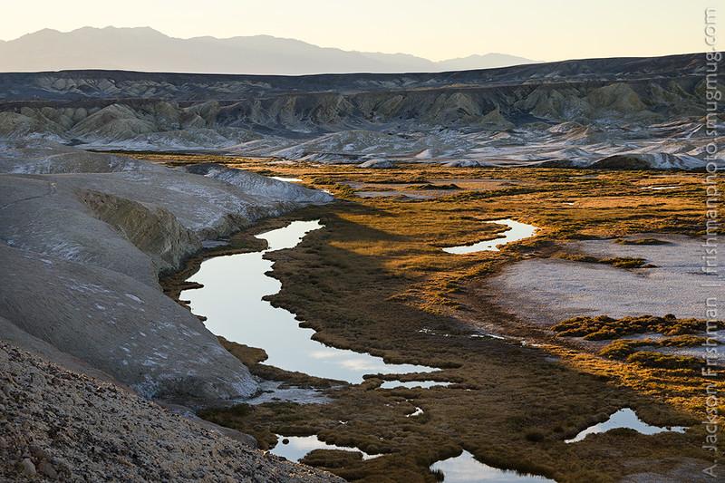 Morning above Salt Creek, Death Valley, California, December 2015.