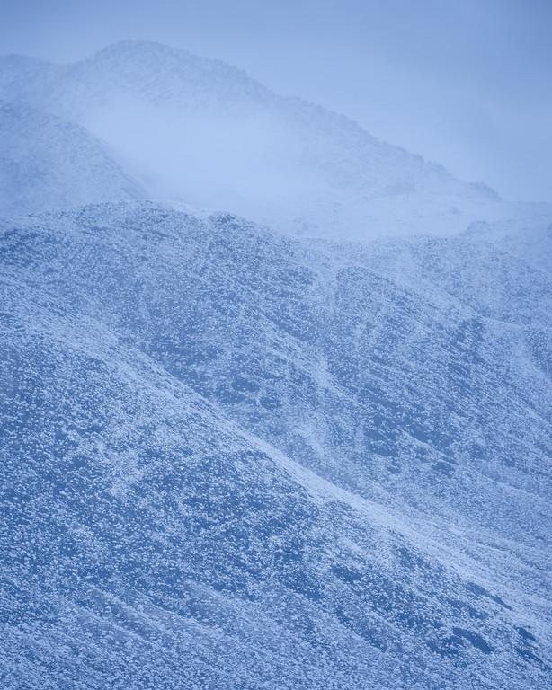 Winter dawn in Deep Springs Valley