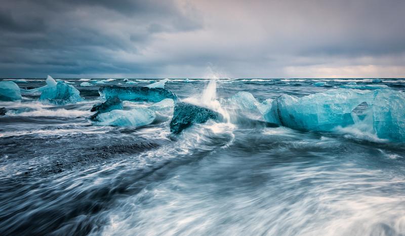 i c e - l a n d | jökulsárlón, iceland