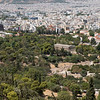 View of the Temple of Zeus, Ancient Agora of Athens