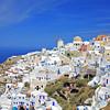 Oia village on the island of Santorini, Greece