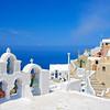 Church bells on Santorini island, Greece
