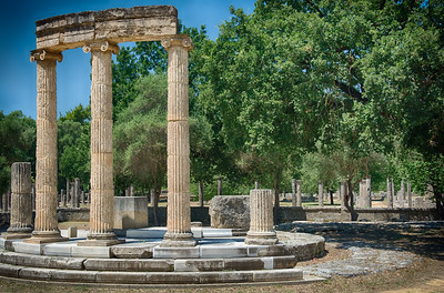 The Philippeion, Olympia, Greece