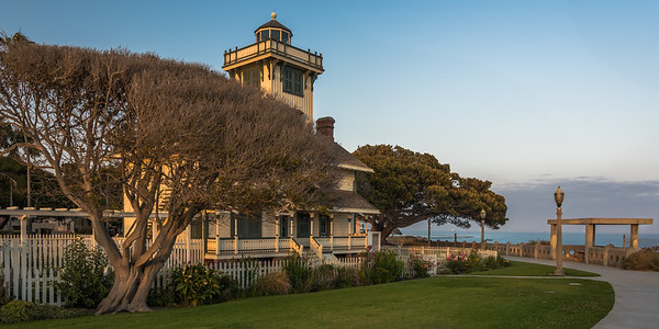 Lighthouse in Late Afternoon
