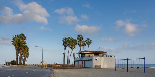 Cabrillo Beach Lifeguard Station