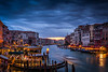 View from the Grand Canal Bridge - Venice, Italy - May 2014