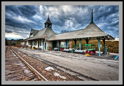 Westport Amtrak Station -8159_63