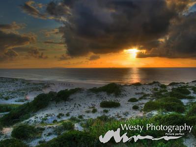 Praia d'El Rai Sunset