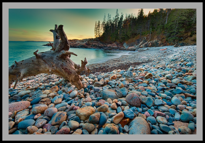Sunset Beach HDR