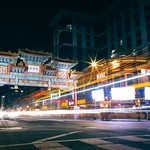 Chinatown Long Exposure in Washington DC