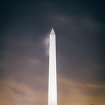 Washington Monument Fog