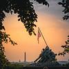 Iwo Jima Memorial Sunrise