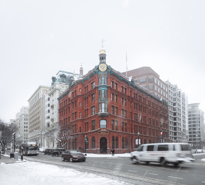 Snowy Suntrust Building