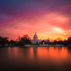Washington DC Capitol Sunrise