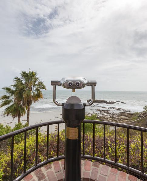 Looking glass at Laguna Beach
