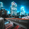 Los Angeles Highways at Night