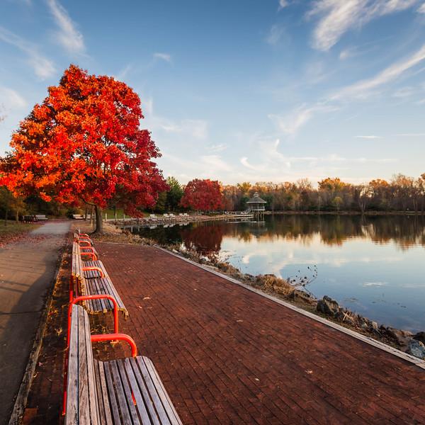Fall Day at Lake Artemesia