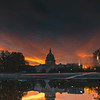 Sunrise Reflection at the US Capitol
