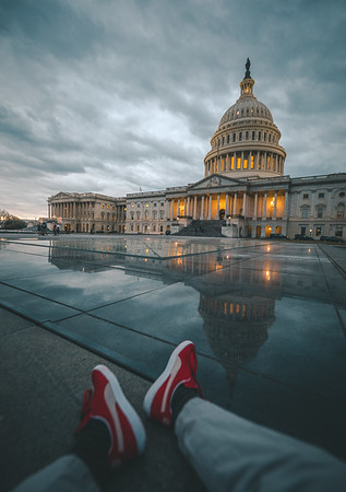 Kicking it at the Capitol
