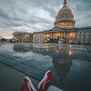 Kicking it at the Capitol
