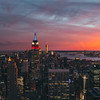 NYC Sunset from Top of the Rock