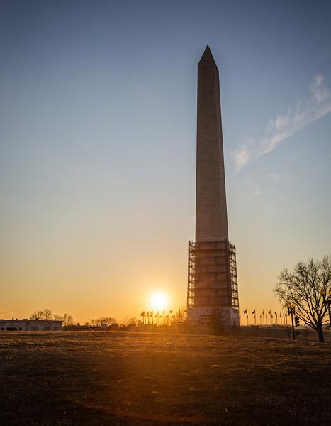DC Sunset at the Washington Monument