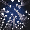 Stars Above LACMA Street Lamps