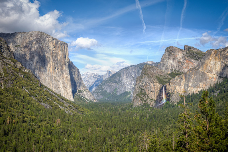Tunnel View at Yosemite