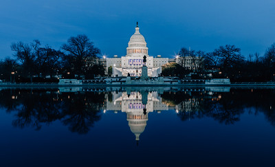 United States Capitol on Inauguration Day
