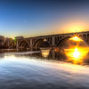 "After a long day of shooting I got this incredible shot in Georgetown of the sunset<br /> <br />  <a href=""http://ihitthebutton.com/sunset-over-key-bridge-in-georgetown/"">http://ihitthebutton.com/sunset-over-key-bridge-in-georgetown/</a>"