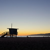 Santa Monica Beach Sunset