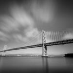 San Francisco Bay Bridge B&W