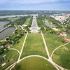Lincoln Memorial View from the Top of the Washington Monument